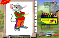 Stuart Little coloring book